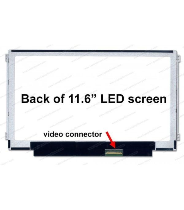 """Pantalla Netbook 11.6"""" R/L 30 pins Acer / Toshiba / HP / Asus / Samsung / Lenovo / Dell"""