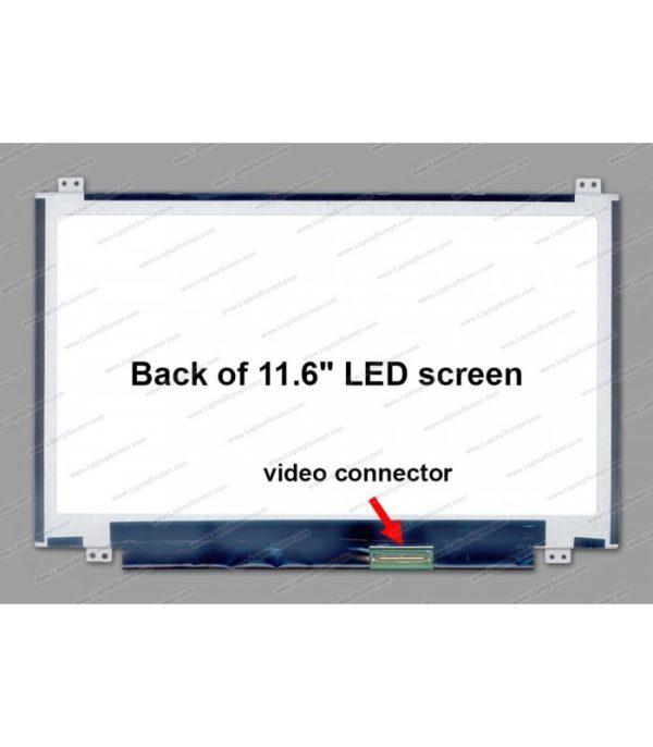 """Pantalla Netbook 11.6"""" U/D 40 pins Acer / Toshiba / HP / Asus / Samsung / Lenovo / Dell"""