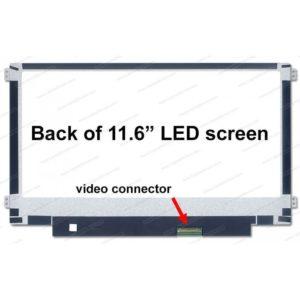 """Pantalla Netbook 11,6"""" R/L 40 pins Acer / Toshiba / HP / Asus / Samsung / Lenovo / Dell"""