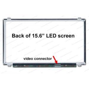 Pantalla Notebook 15,6 LED - SLIM U/D 40 Pins Acer / Toshiba / HP / Asus / Samsung / Lenovo / Dell