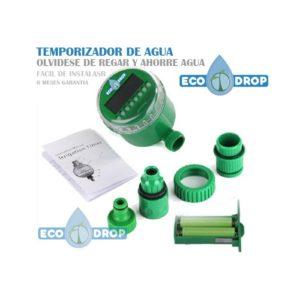 Temporizador riego automático inteligente Ecodrop