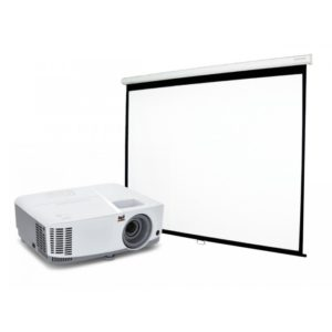 "Combo Home Cinema Proyector 800 Lumenes + Pantalla 50"" Manual"
