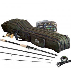 Bolso mochila de 150 cm. para transporte de cañas de pescar y otros fines.