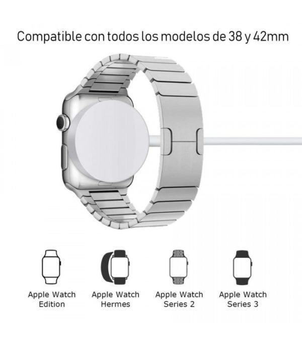 Cargador original Certificado Apple Watch 38mm 42mm