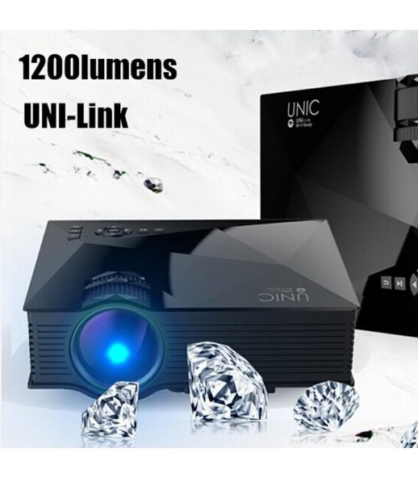 Proyector Led Wi-Fi Youtube - Koala -Soporta Full Hd 1080p 1200 lúmenes