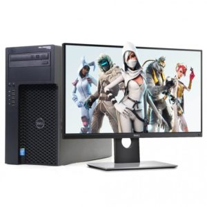 Computadora GAMER Dell T 1700 core i7 16 Gb Ram / 256 SSD / 2 Tb / Monitor de 24""